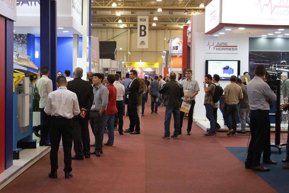 Feira reúne as principais tecnologias nacionais e internacionais para fundição