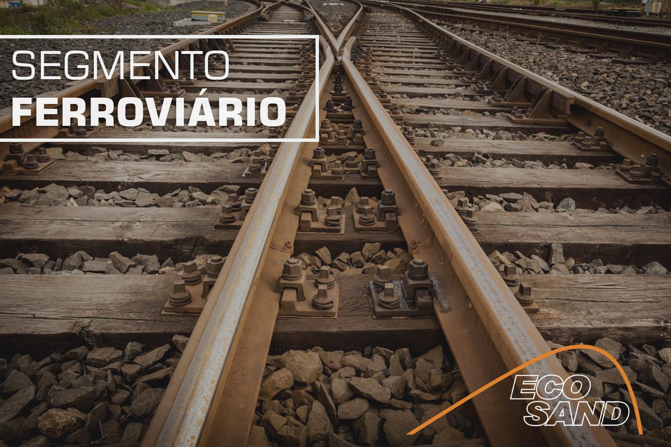 Eco Sand é líder na fabricação de areeiros para ferrovias