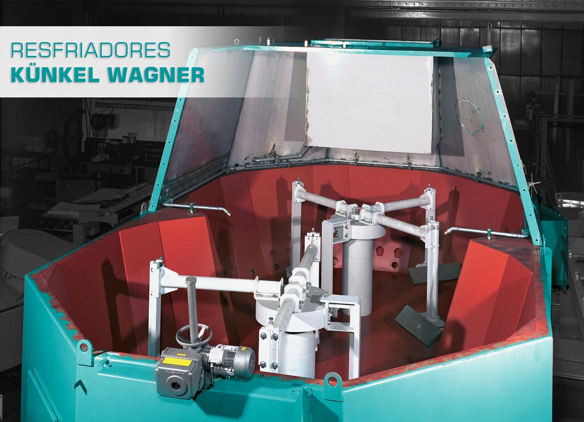Eco Sand é a 1ª empresa mundialmente licenciada para fabricação de equipamentos Künkel Wagner